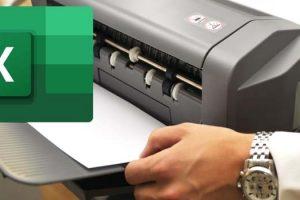 cara print excel agar tidak kecil