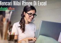 cara mencari nilai range di excel