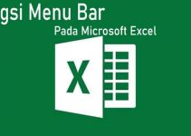 Fungsi menu bar pada Microsoft Excel