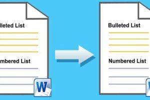 Cara Menambahkan Bullets dan Numbering